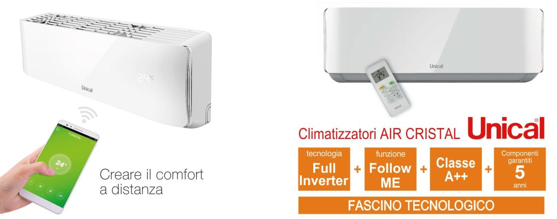 Energeo impianti air cristal unical for Interno unical